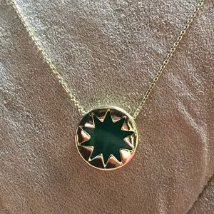 House of Harlow green necklace